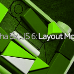 Sencha Ext JS 6- Layout Model 1